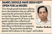 Madhav Godbole lauds note ban