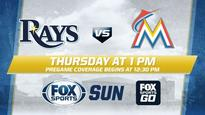Miami Marlins at Tampa Bay Rays game preview