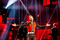 Nicky Byrne takes to Eurovision stage for first rehearsal - but reviews are mixed