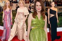 SAG Awards worst dressed: Nicole Kidman, Christina Hendricks, Julianne Moore and Kaley Cuoco miss the mark