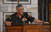China downplays Army Chief Bipin Rawat's war remarks