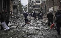 Aid arrives for besieged Syrians