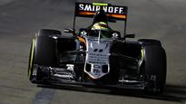 Singapore GP: Sergio Perez finishes 8th, adds four points to Force India tally