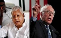 Lalu Prasad Yadav gave some gyaan to Bernie Sanders and Twitterati can't digest it