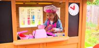 Girl Scouts Build Magical Playhouse for Girl With Heart Transplant