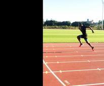 London test for Bolt