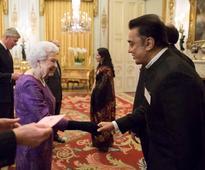 When Kamal Hassan met the queen of England!