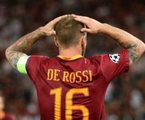 Serie A: Roma captain Daniele De Rossi handed 2