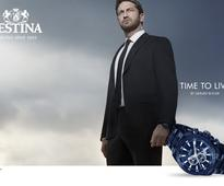 Festina airport campaign takes off with Gerard Butler