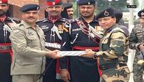 Sweets exchanged at Wagah-Attari border on Pakistan's Independence Day