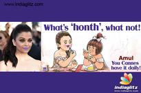 Amul takes a dig at Aishwarya Rai Bachchan's purple lips: Check it Here