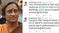 11 Rita Bahuguna Joshi tweets that capture her 'love' for BJP