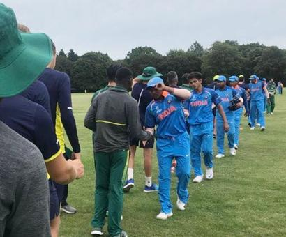 India U-19 team gets the better of South Africa in WC warm-up