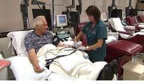 Man donates blood to Cedars-Sinai...