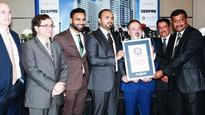 Dubai sets world record for...