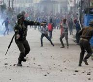 Forceful anti-India demonstrations held in Occupied Kashmir