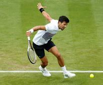 Eastbourne International: Novak Djokovic battles into semis, warms up for Wimbledon