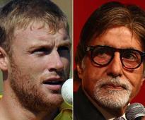 After England Win, Jubilant Flintoff Baits Amitabh Bachchan in Round 2