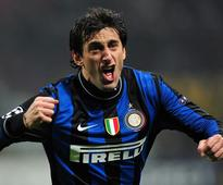Former Inter Milan striker Diego Milito announces his retirement