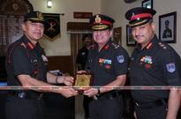 Lt Gen Raman Dhawan, VSM, COS, Army Training Command, Artrac visits IML, Kamptee