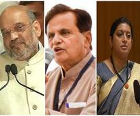 Gujarat RS polls today: Amit Shah, Smriti Irani, Ahmed Patel in fray