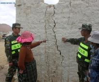 5.3-magnitude earthquakes hit Tibet, no casualties reported