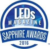 LEDs Magazine Recognizes the Lighting Industry's Best at Second Annual Gala Dinner