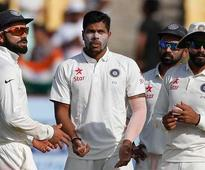Rajkot Test: DRS debut and a catch that wasn't