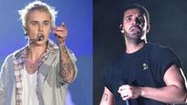 Bieber dances past Drake to No 1