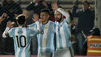Argentina 1 Honduras 0: Higuain scores stunner as Messi hobbles off