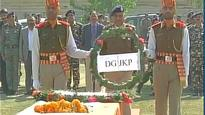 Wreath laying ceremony held for Jawan Ghanshyam martyred in Zakura terror attack