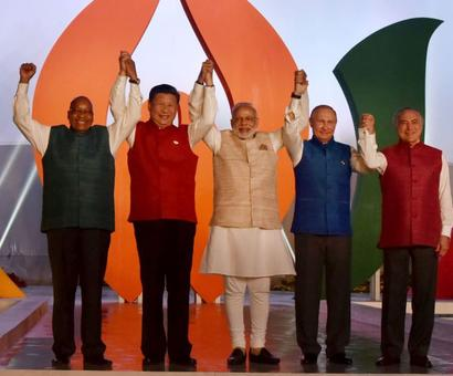 Sandy beaches of Goa welcome world leaders for BRICS summit