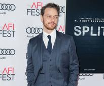 James McAvoy broke his hand on set of Split