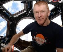 I feel great, Tim Peake says a month after he returns from space