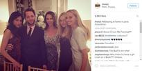 Bush's daughter attends Clinton fundraiser in Paris