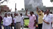 Four Shiv Sena leaders booked for firing in air at cremation in Khanna