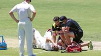Voges being monitored after blow