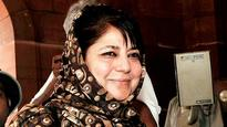 Mehbooba Mufti puts conditions for government formation, BJP wants PDP to take first step