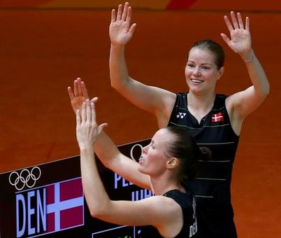 Badminton: Danes end Chinese reign in women's doubles