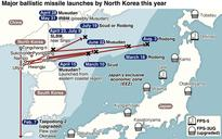 Rising threat due to N. Korea missile launch...