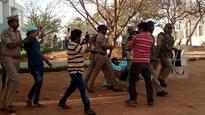 End Casteist - Fascist Attacks On Students of University of Hyderabad Now!