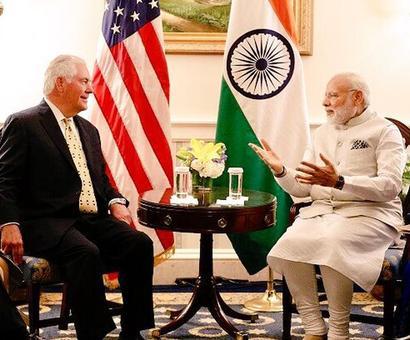 Tillerson, Mattis call on Modi ahead of meet with Trump