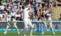Australia takes control against New Zealand in Wellington Test