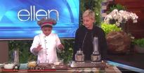 Watch: 6-year-old Kerala chef makes puttu at Ellen's show