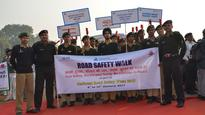 Delhi Police organise Road Safety Week