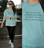 Kareena Kapoor Khan has a message for everyone, and it's written on her T-shirt  view HQ pics!
