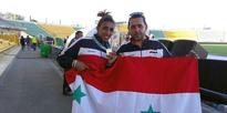 Syrian's Ghufran Mohammad wins gold medal in Almaty International Athletics Championships