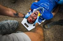 Offutt Medics put their skills to the test