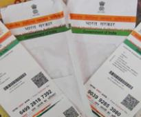 House panel seeks legal status for Aadhaar