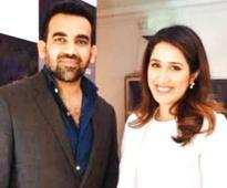 Zaheer Khan and Sagarika Ghatge spotted together yet again